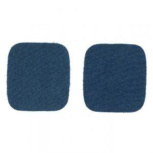 Kniestukken Jeans 1 paar blauw
