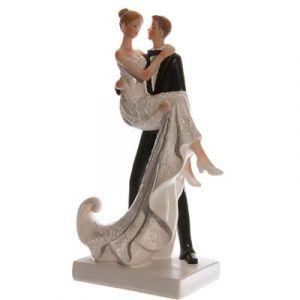 Bruidspaar 22,5cm hoog 1st