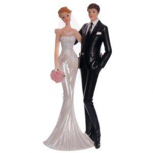 Bruidspaar 21cm hoog 1st