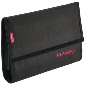 SenseBag wallet black voor 24 markers
