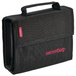 SenseBag wallet black voor 36 markers