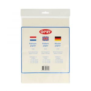Opry patroonpapier 3m2 1st