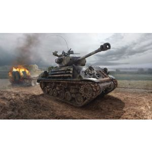 "Italeri M4A3E8 Sherman ""Fury"