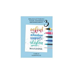 Brushlettering voor iedereen oefenschrift no. 3