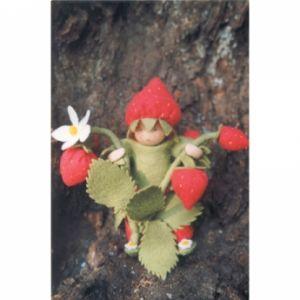 Bloemkindje Aardbeien 12 cm hoog
