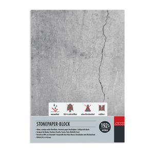 Ami Stonepaper blok A6 192 grams 40 vel