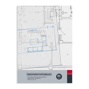 Ami Transparantblok A4 80g/m2  50 vel