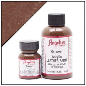 Angelus leerverf 014 brown 118ml