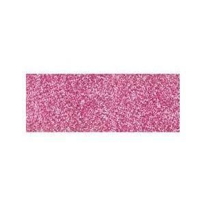 Biaisband glitter rose