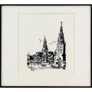 Pako borduurpakket Amsterdamse gracht