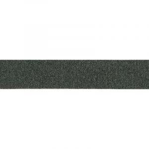 Ceintuur elastiek gemeleerd 40mm donker grijs