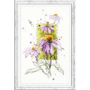 Chuco Igla borduurpakket Echinacea