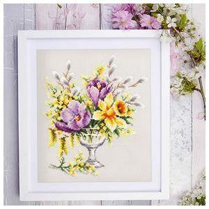 Chuco Igla borduurpakket Spring Bouquet
