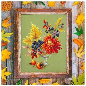Chuco Igla borduurpakket Autumn Bouquet