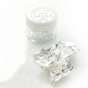 SK designer silver leaf 1 flake fijn zilver 999