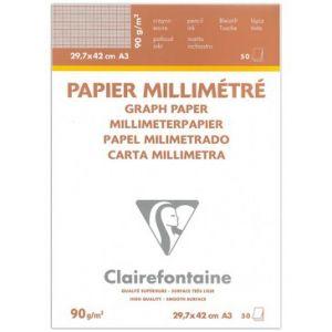 Clairefontaine millimeterpapier A3 90 gram 50 vel