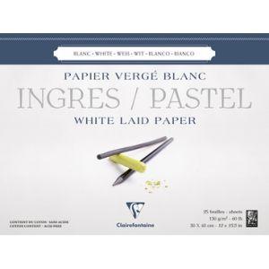 Ingres pastel papier 30x40cm 130 gram wit