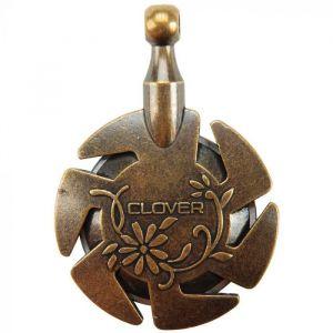 Clover garensnijder hanger brons