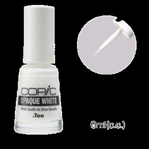 Copic opaque white met kwastje 6ml 20076506