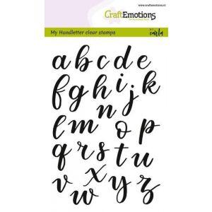 Clearstempel Alfabet schrijfletters dicht