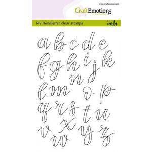 Clearstempel Alfabet schrijfletters open