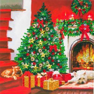 Crystal Art card kit Christmas tree