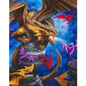 Crystal Art Kit® Canvas collection Dragon Clan CAK-AST13