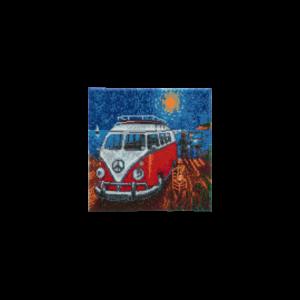 Crystal Art Kit® Canvas Camper Van Go