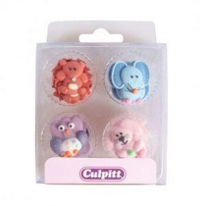 Culpitt Suikerdecoratie Baby Animals 12 stuks