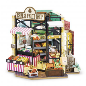 Diy Miniature House Carl's fruit shop