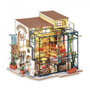 Diy Miniature House Emily's flowershop