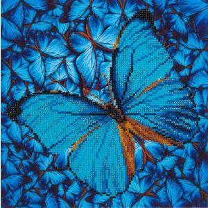 Diamond Dotz® Blauwe Vlinder