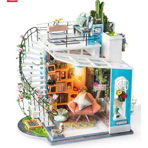 Diy Miniature House Dora's loft