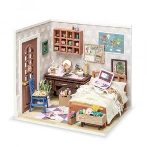 Diy Miniature House Anne's Bedroom