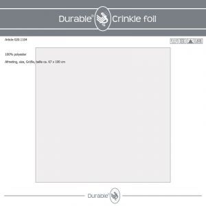 Durable Crinkle Foil knisperfolie 67x100cm 020.1104