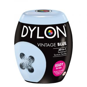 Dylon kleurvaste verf 06 vintage blue all-in-1 ready to use 085.1534/06