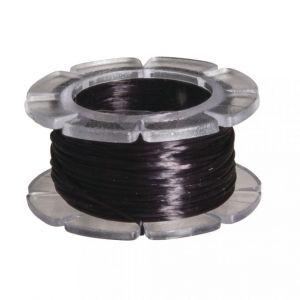 Elastisch nylon 0,5mm zwart Rayher 89 168 01