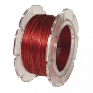 Elastisch nylon 0,8mm rood Rayher 89 240 18
