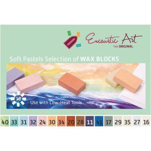 Encaustic was assortiment pastelset 16 kleuren 9953 5160