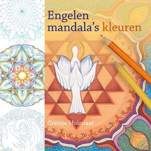 Engelen mandala's kleuren