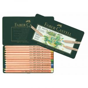 Faber-Castell PITT pastel potloden 12 st assorti
