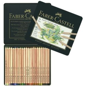 Faber-Castell PITT pastel potloden 24 st assorti