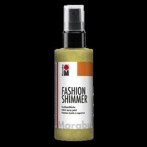 Marabu Fashion Shimmer Spray kleur 520 citroen 100ml