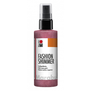 Marabu Fashion Shimmer Spray kleur 534 roze 100ml