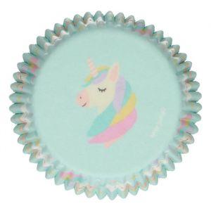 Funcakes baking cups unicorn 48st