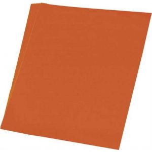 Tekenpapier 11 oranje