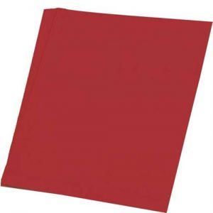 Tekenpapier 13 rood