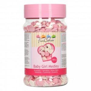 Funcakes Baby Girl Medley roze 180gr