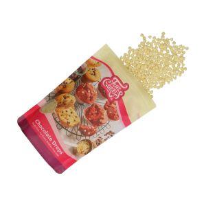Funcakes Chocolade drops wit 350 gram F30130