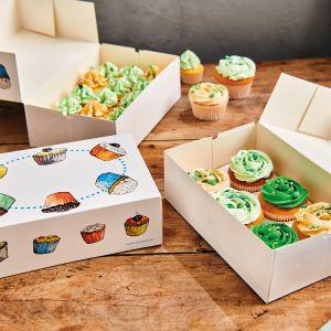Funcakes Cupecake box 3 stuks